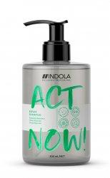 Indola Act Now!, wegański szampon regenerujący, 300ml