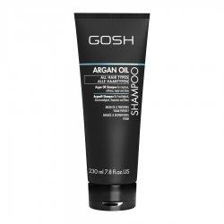 GOSH Argan Oil, szampon do włosów, 230ml