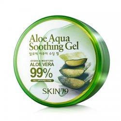 SKIN79, Aloe Aqua Soothing Gel, kojący żel aloesowy, 300g