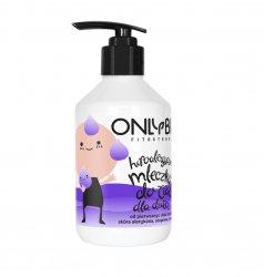 OnlyBio, mleczko dla dzieci, hipoalergiczne, 250ml