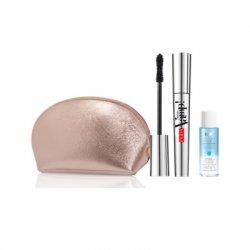 Pupa, zestaw z kosmetyczką mascara Vamp + płyn do demakijażu