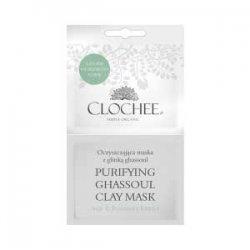 Clochee, maseczka oczyszczająca z glinką ghassoul, 2x6ml