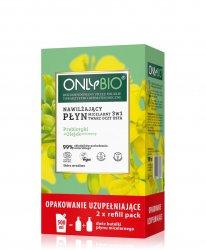 OnlyBio, nawilżający płyn micelarny 3w1, refill, 500ml