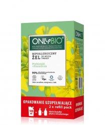 OnlyBio, hipoalergiczny żel do mycia twarzy, refill, 500ml