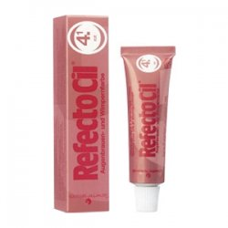 RefectoCil henna brwi i rzęs, kolor 4.1 rudy, 15ml