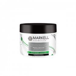 Markell, maska do włosów z keratyną, 290ml