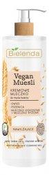Bielenda Vegan Muesli, kremowe mleczko do mycia twarzy, 175g