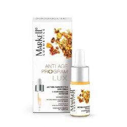 Markell, Active-serum do twarzy ze Złotem Koloidalnym, 10ml