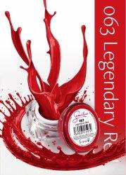 Semilac UV Gel Color 063 Legendary Red, 5ml