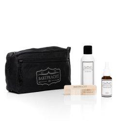 Bartpracht, zestaw do pielęgnacji brody w kosmetyczce, olejek 30ml + mydło do brody 150ml + grzebień
