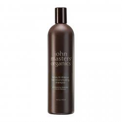 John Masters Organics, Miód & Hibiskus, szampon regenerujący, 473 ml