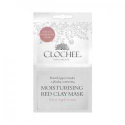 Clochee, maseczka nawilżająca z czerwoną glinką, 2x6ml
