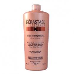 Kerastase Discipline Fluidealiste, wygładzająca kąpiel do włosów cienkich i normalnych, 1000ml