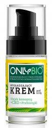 OnlyBio, krem wygładzający pod oczy, olejek CBD + prebiotyki, 30ml