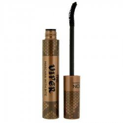 Makeup Revolution, tusz do rzęs pogrubiająco - podkręcający, Viper Black