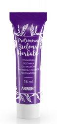 Anwen, wegańska odżywka do włosów o średniej porowatości, Zielona Herbata, 15ml