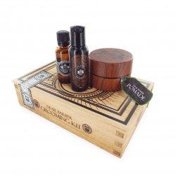 Dear Barber Style & Go Collection - Pomade, zestaw: szampon 50ml, tonik 30ml, pomada 100ml