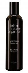 John Masters Organics, szampon do włosów cienkich, Rozmaryn i Mięta, 236 ml