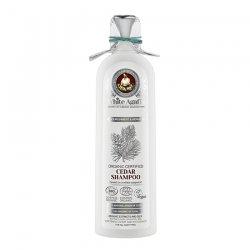 Babuszka Agafia White Agafia, organiczny szampon cedrowy, odżywienie i regeneracja, 280ml