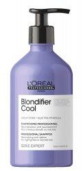 Loreal Blondifier Cool, szampon ochładzający odcienie blond, 500ml