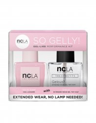 NCLA So Gelly!, zestaw lakier+top do paznokci, Not So Sweet, 2x15ml