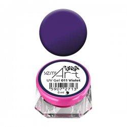 Semilac Semi-Art, żel do zdobień, 011 Violet, 5ml