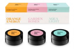 Make Me Bio, kremy do twarzy Orange Energy, Garden Roses, Aqua Light (3x20ml)