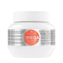 Kallos KJMN Omega, maska regeneracyjna z Omega-6 i olejem macadamia, 275ml
