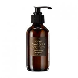 John Masters Organics, różany żel do mycia twarzy, 118 ml