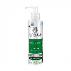 Markell, żel-krem do mycia twarzy, śnieżny grzyb, 200ml