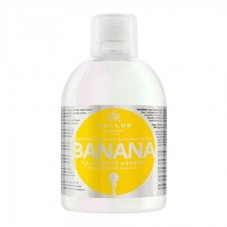 Kallos KJMN Banana, szampon wzmacniający, 1000ml