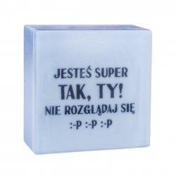 LaQ, mydło SMS - Jesteś super