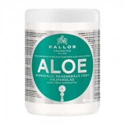 Kallos KJMN Aloe, maska aloesowa regenerująco-nawilżająca, 1000ml