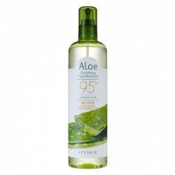 It's Skin Aloe, nawilżająco-łagodząca mgiełka do twarzy i ciała, 400ml