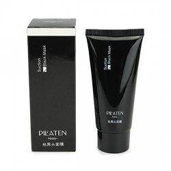 Pilaten Blackhead Pore Strip, czarna maska z węglem bambusowym, tuba, 60g