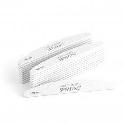 Semilac Beauty Salon, pilnik standard półksiężyc 100/180 (25 szt.)