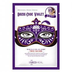 Mediheal Mask Dress Code Violet, maska karnawałowa tonizująco-regenerująca, 27ml