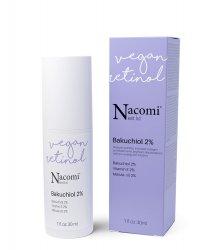 Nacomi Next Level, przeciwzmarszczkowe serum z bakuchiolem 2%, 30ml
