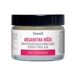 Iossi Aksamitna Róża, regenerująco-nawilżający krem, 50ml