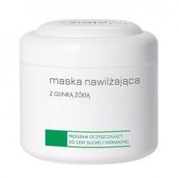 Ziaja Pro, maska nawilżająca z glinką żółtą, program oczyszczający do cery suchej i normalnej, 200ml