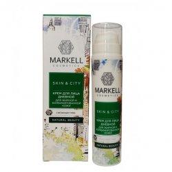 Markell, krem do twarzy, cera tłusta i mieszana, Śnieżny Grzyb, 50ml