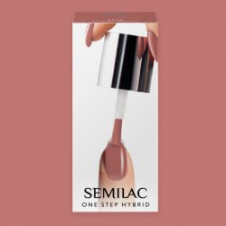 Semilac One Step Hybrid, lakier hybrydowy, 5ml, S240 Peach Beige
