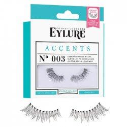 Eylure Accents, sztuczne rzęsy do zewnętrznego kącika, N 003