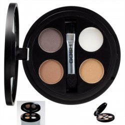 Gosh Eye Brow Kit, paleta do brwi, puder z woskiem