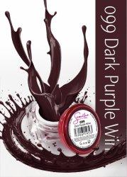 Semilac UV Gel Color 099 Dark Purple Wine, 5ml