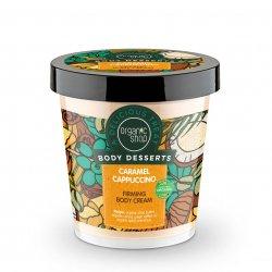 Organic Shop, ujędrniający krem do ciała Karmelowe Cappuccino, 450ml