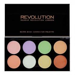 Makeup Revolution, paleta korektorów, Ultra Base