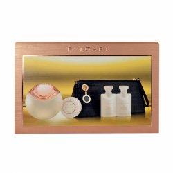 Bvlgari Aqva Divina, zestaw perfum Edt 65ml + 40ml balsam + 40ml żel pod prysznic + 50g mydło + kosmetyczka (W)