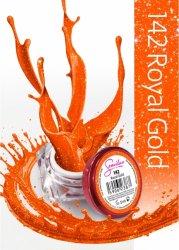 Semilac UV Gel Color 142 Royal Gold, 5ml