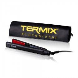 Termix Profesional, prostownica do włosów z regulacją temperatury, termix 27 czarna